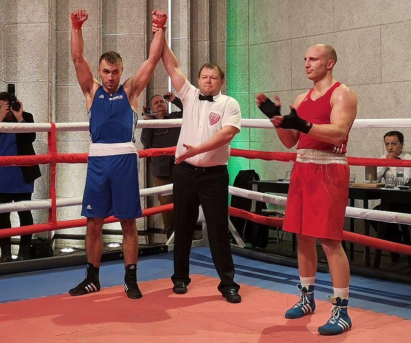 Kategoria 81kg Sergei Gorokhov vs Klemens Szczepaniak KO2