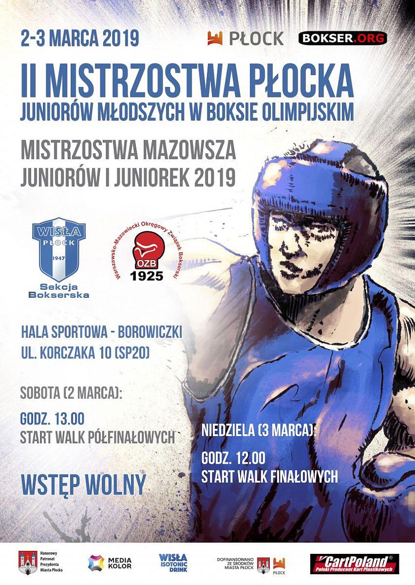 Mistrzostwa Płocka Juniorów i Juniorek Młodszych w Boksie