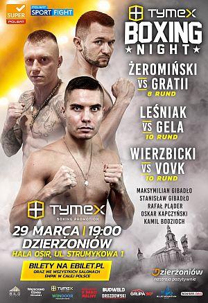 TYMEX Boxing Night Dzierżoniów