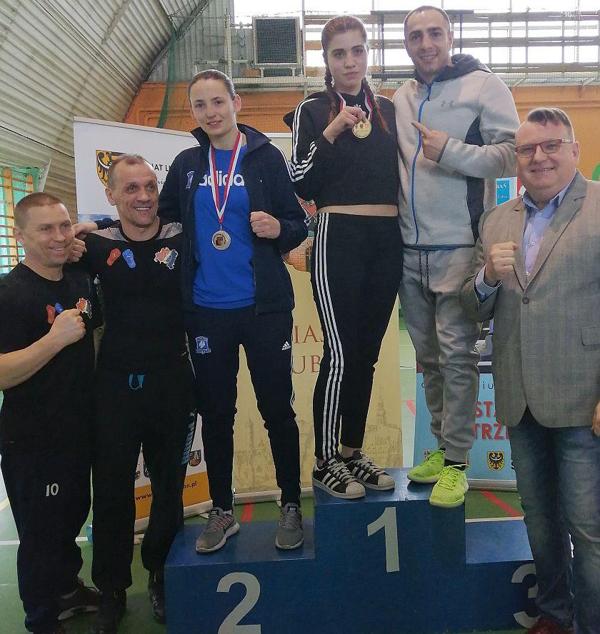 Wiktoria Hanczewska Team Tariel Zandukeli ze złotym medalem Mistrzostw Dolnego Śląska