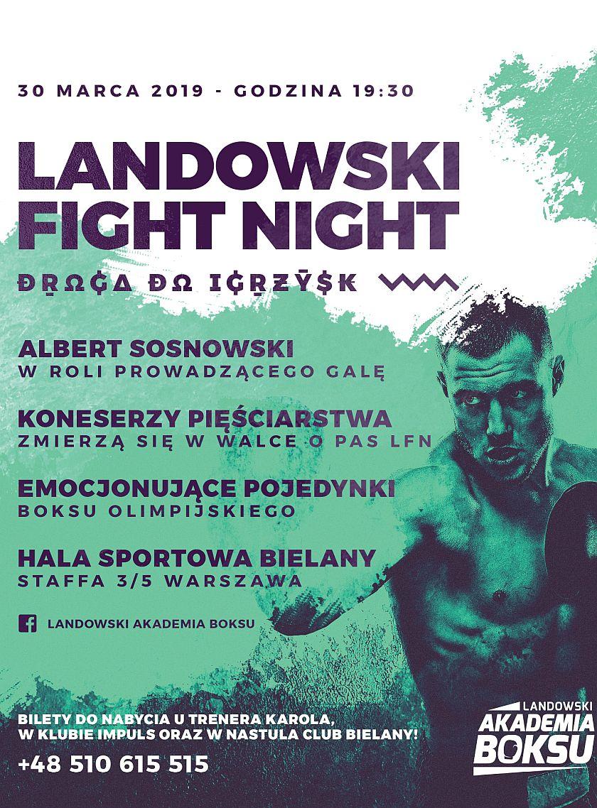 Landowski Fight Night - Droga do Igrzysk - Warszawa