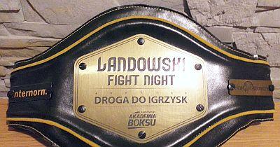 Pas gali Landowski Fight Night - Droga do Igrzysk