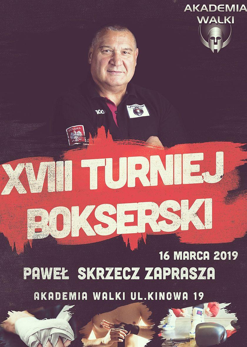 Paweł Skarzecz Zaprasza... XVIII Turniej przy Kinowej