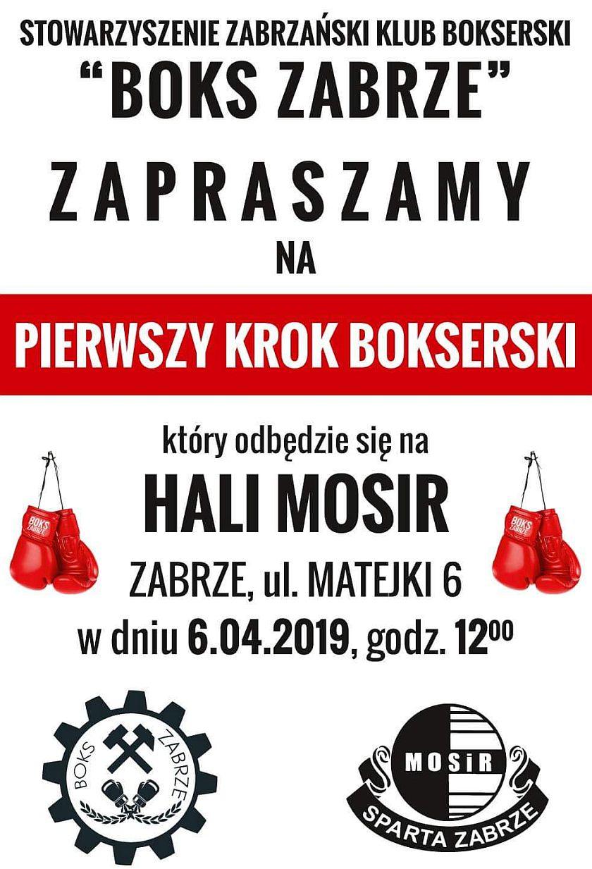 Pierwszy Krok Bokserski dla wszyskich w Zabrzu