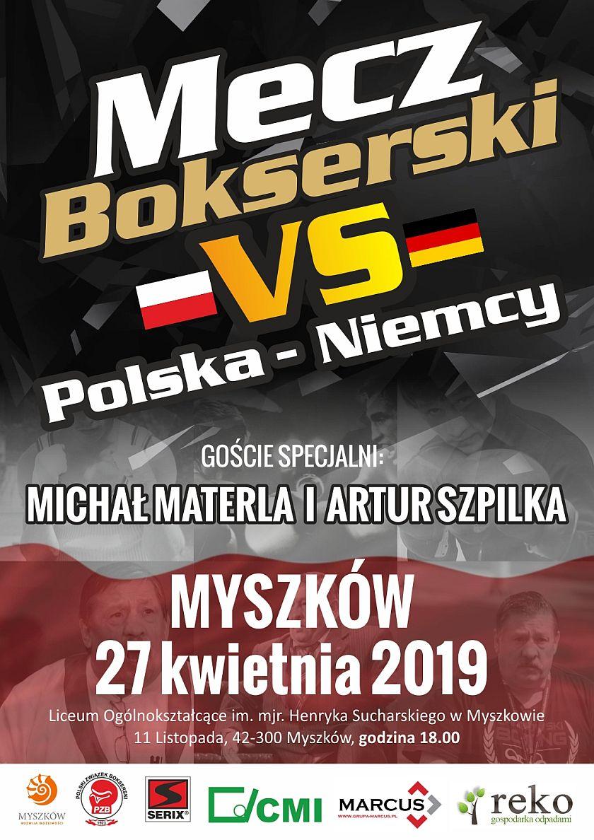 Międzynarodowy Mecz Polska vs Niemcy w Myszkowie