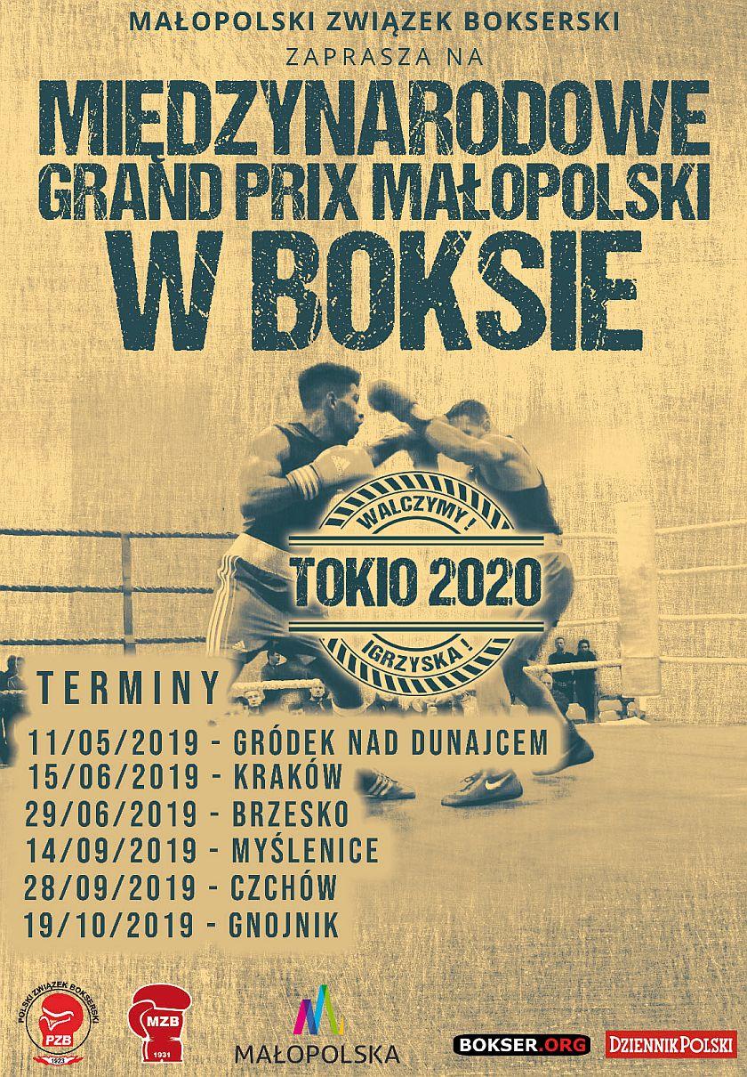 Międzynarodowe Grand Prix Małopolski - piąty sezon czas zadząć