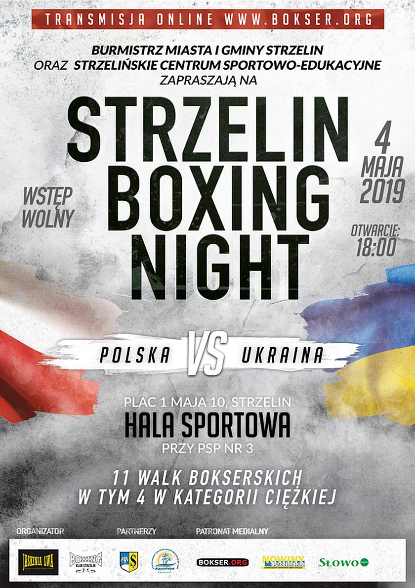 Strzelin Boxing Night 2019 - Polska vs Ukraina