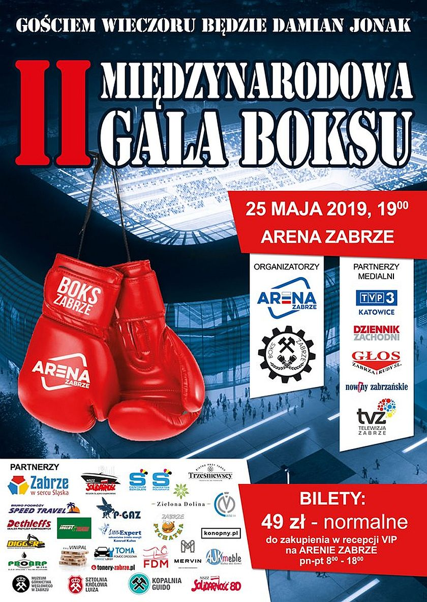 II Międzynarodowa Gala - Arena Zabrze