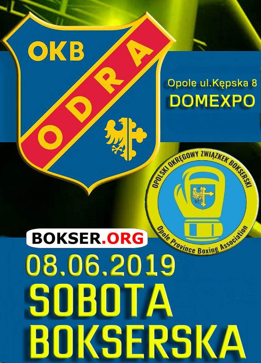 Odra Opole i Sobota Bokserska przy ulicy Kępskiej 8 w Opolu