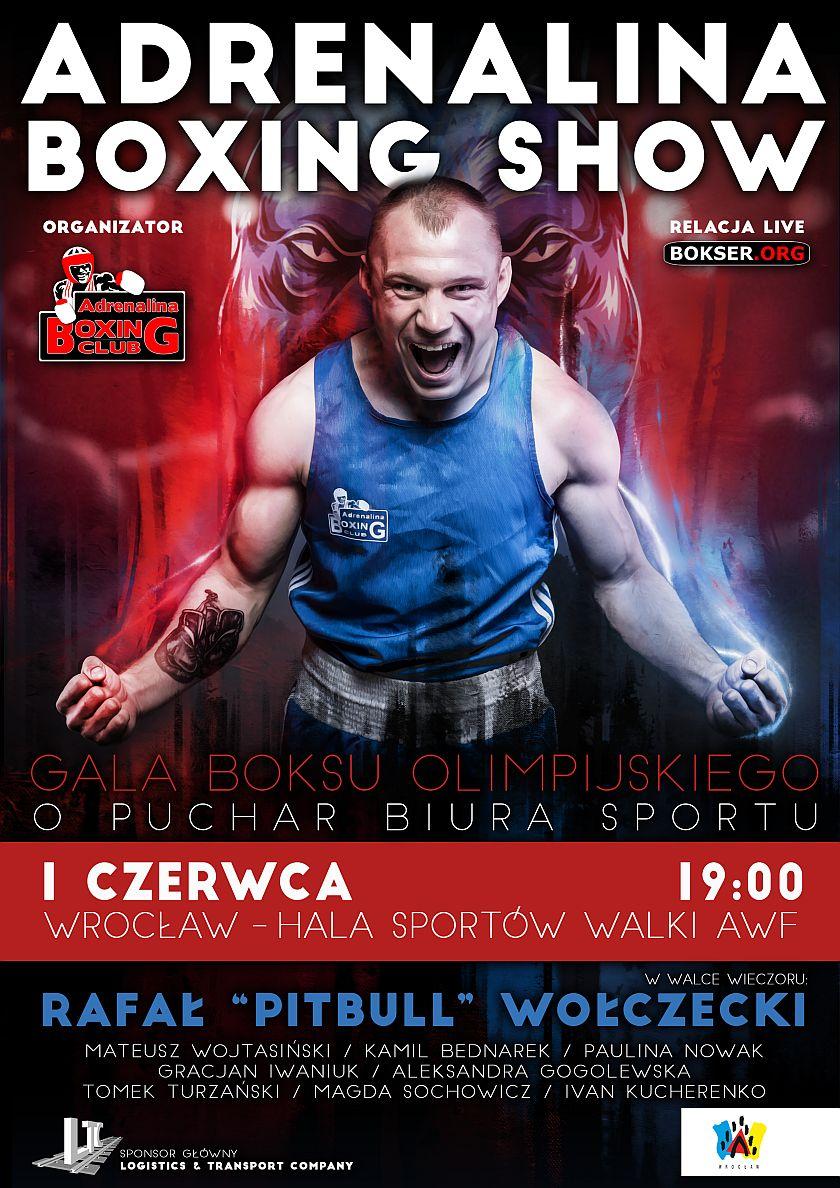 Gala Boksu Olimpijskiego o Puchar Biura Sportu 'Adrenalina Boxing Show' AWF Wrocław