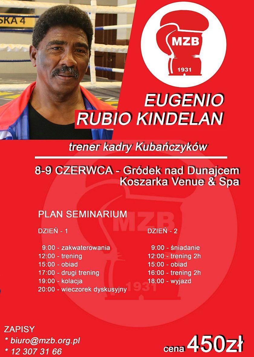 Seminarium z Eugenio Rubio Kindelana - trenerem kadry narodowej Kuby