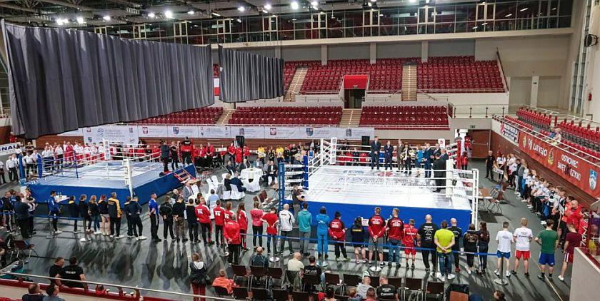 XV Ogólnopolska Olimpiada Młodzieży w boksie - otwarcie
