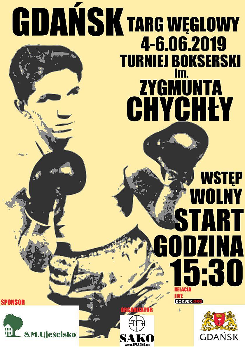 IX Międzynarodowy Turniej Bokserski imienia Zygmunta Chychły - Gdańsk, Targ Węglowy