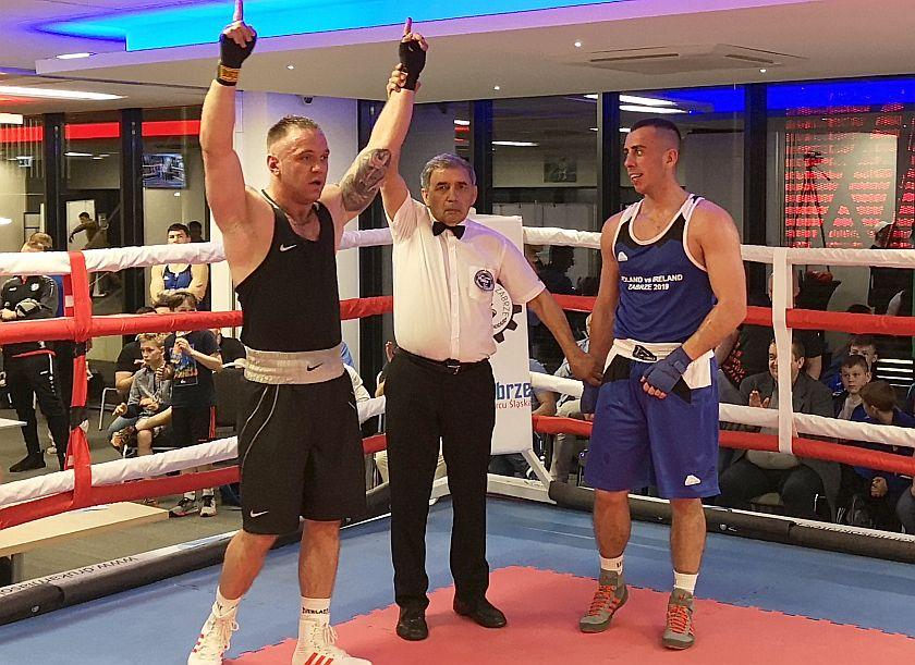 75kg Lehmann Robert (Polska) - Aron Mangue (Irlandia)