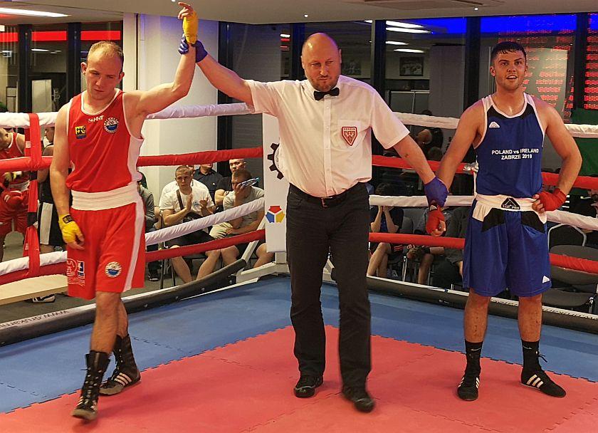 69kg Piwowar Damian (Polska) - Adam Curley (Irlandia)