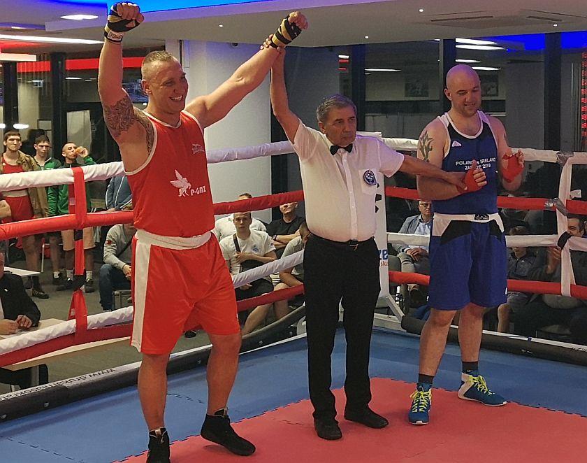 +91kg Wojda Krzysztof (Polska) - Jason English (Irlandia)