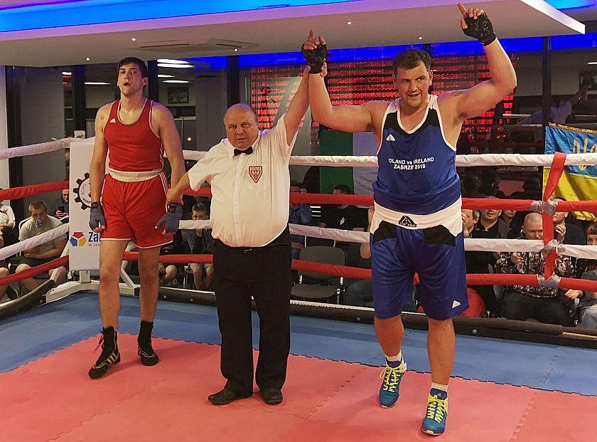 +91kg Yatsuita Bogdan (Ukraina) - Antonie Griffin (Irlandia)