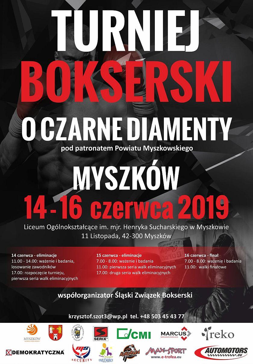 XLIII Międzynarodowy Turniej Bokserski o Czarne Diamenty - Myszków