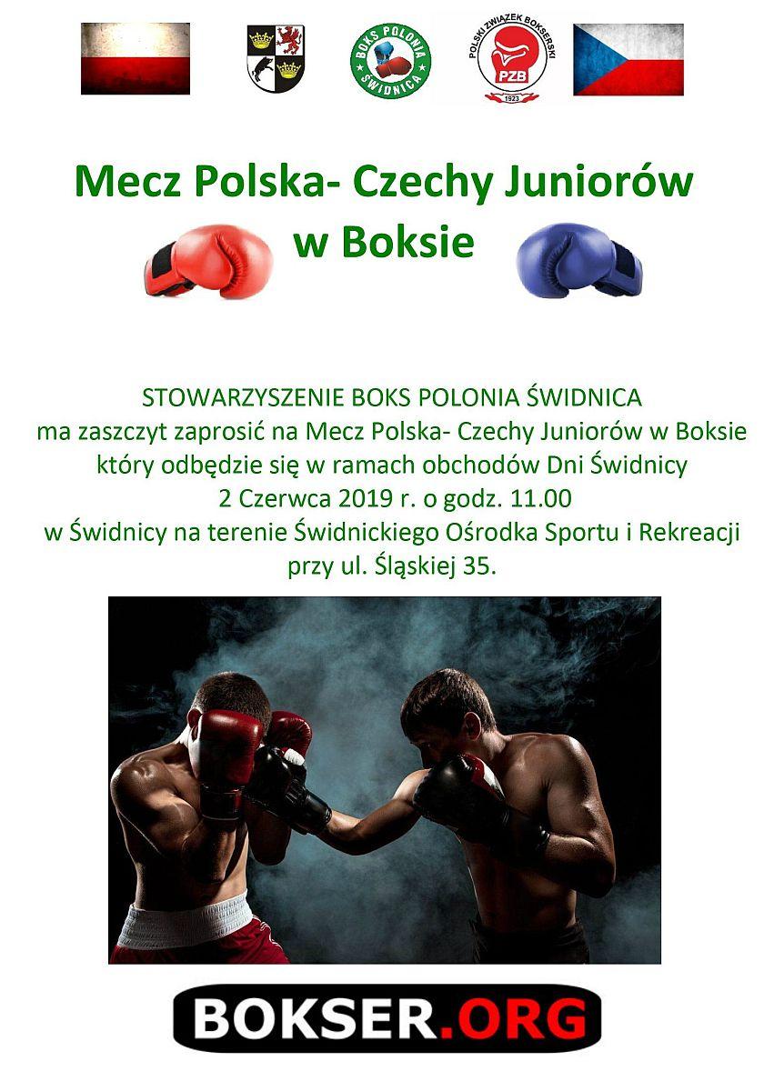 Mecz juniorów Polska vs Czech w Świdnicy