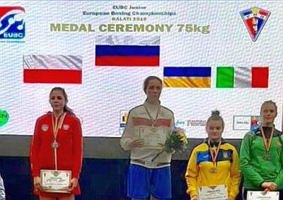 Srebro Mistrzostw Europy Barbara Marcinkowska