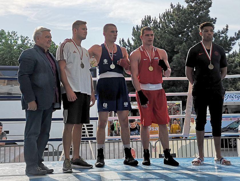 kategoria 91kg Igor Fedorov (Rosja) vs Michał Soczyński (Polska) PKT 3-0