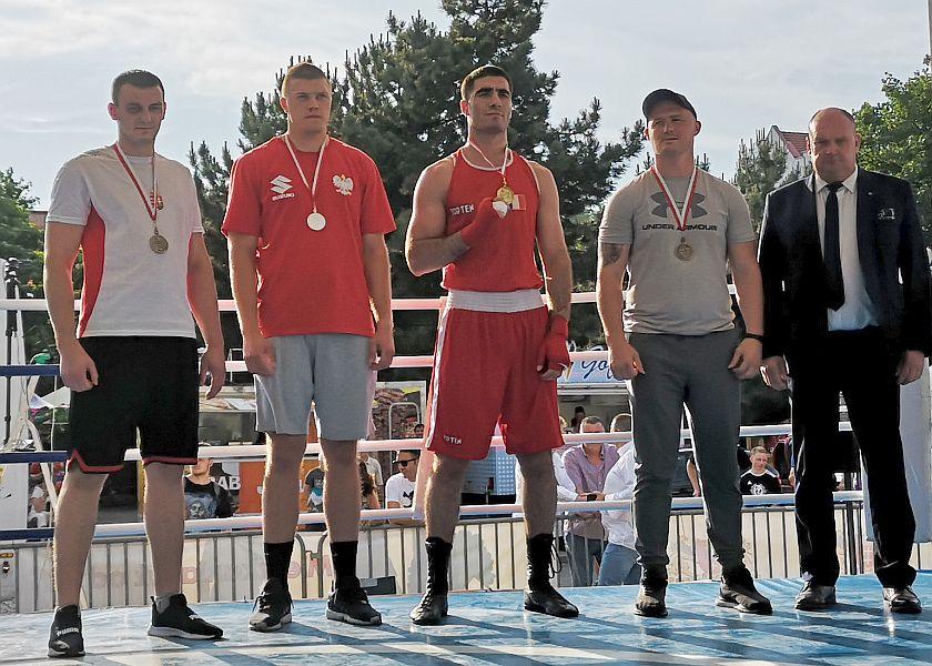 kategoria +91kg Mourad Aliev (Francja) vs Aleksander Stawirej (Polska)