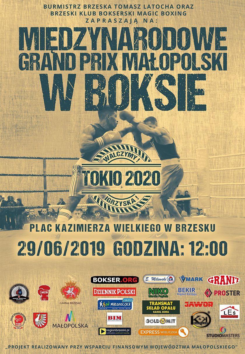 Międzynarodowe Grand Prix Małopolski w Boksie - tam gdzie wszystko się zaczęło
