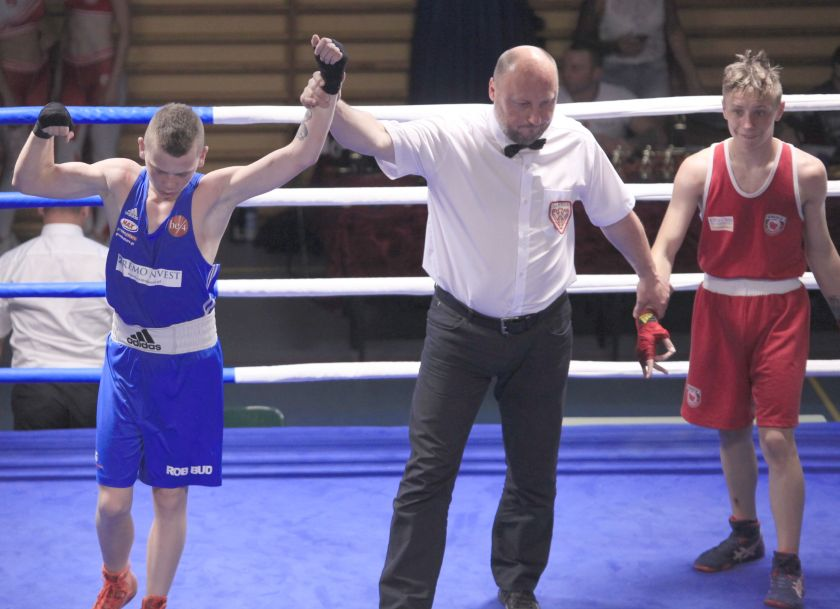Dmytro Dobrowolski (MUKS Widzew Łódź) vs Wiktor Bujakowski (KS Górnik Sosnowiec) PKT 1-2