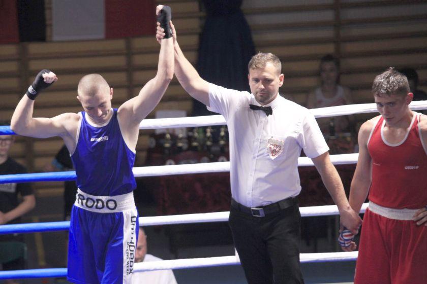 Rostyslaw Nadolski (MUKS Widzew Łódź) vs Patryk Rydz (KS Garda Gierałtowice) PKT 1-2