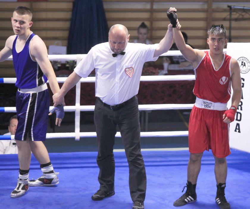 Thommy Tran (BC ISI Gym Berlin - GER) vs Krystian Kopeć (KS Iryda Mielec) PKT 2-1
