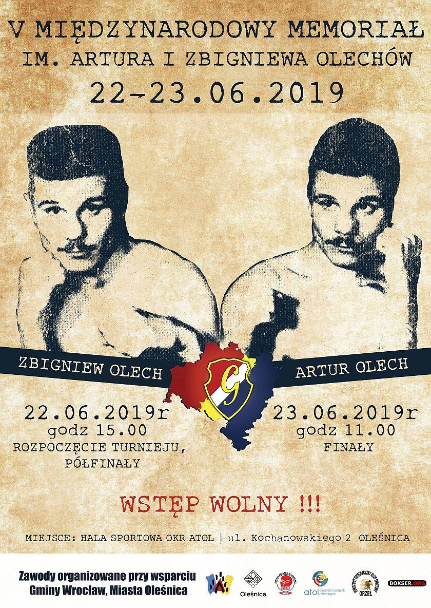Memoriał Braci Olechów w Olesnicy - Boks Olimpijski