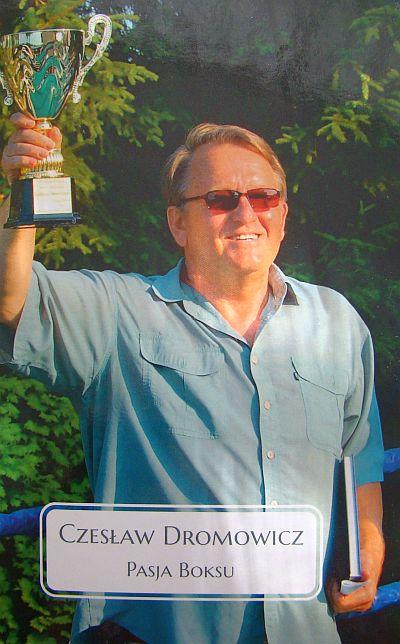 Czesław Dromowicz kończy  50 letnią karierę