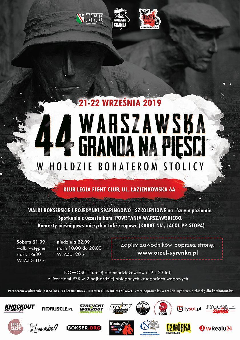 44 Warszawska Granda na pięści - Torwar