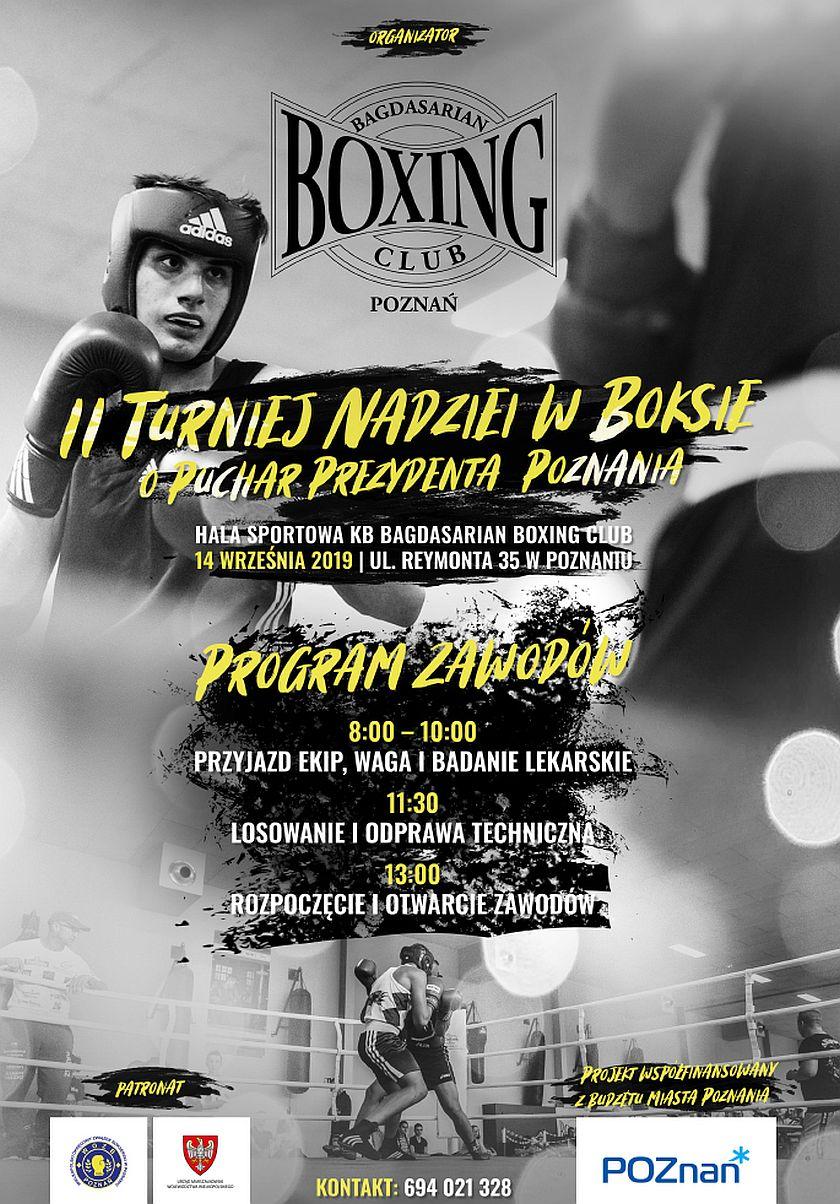 KB Bagdasarian Boxing Club Poznań Turniej Nadziei Olimpijskich
