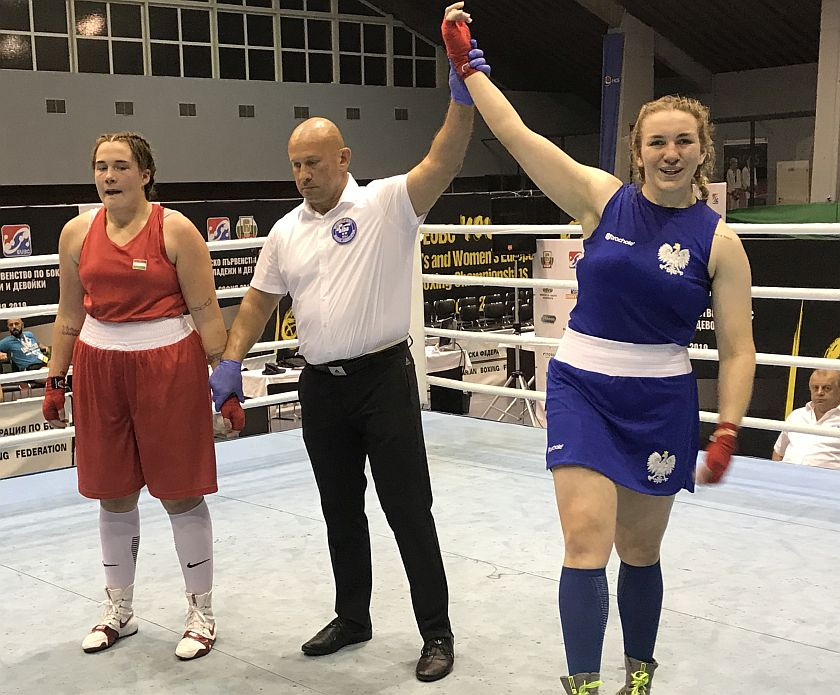 Karolina Jancelewicz wygrywa bój o medal Mistrzostw Europy w Sofii