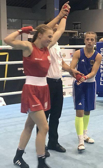 Wiktoria Rogalińska tryumfuje na Mistrzostwach Europy w Sofii