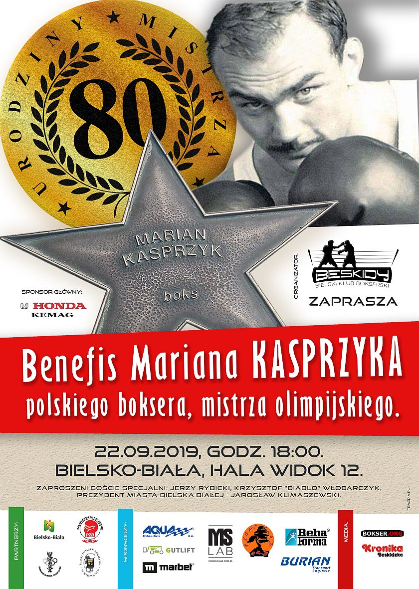 Benefis Mariana Kasprzyka