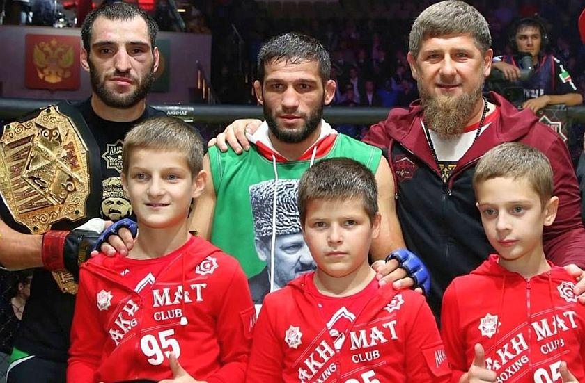 Rodzinna drużyna prezydenta Czeczeni Ramzana Kadirowa