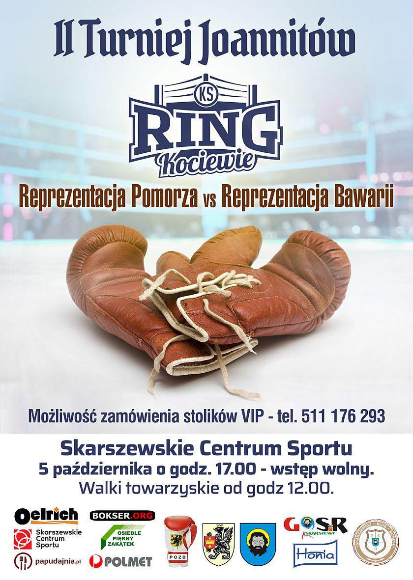 II Turniej Joannitów w Skarszewie - Ring Kociewie -Łukasz Rusiewicz