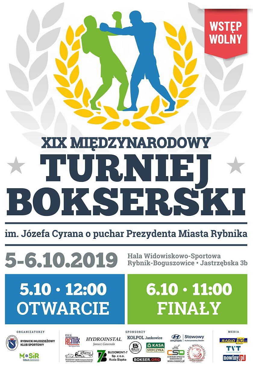 Międzynarodowy Turniej bokserski o Puchar Prezydenta Miasta Rybnika im. Józefa Cyrana