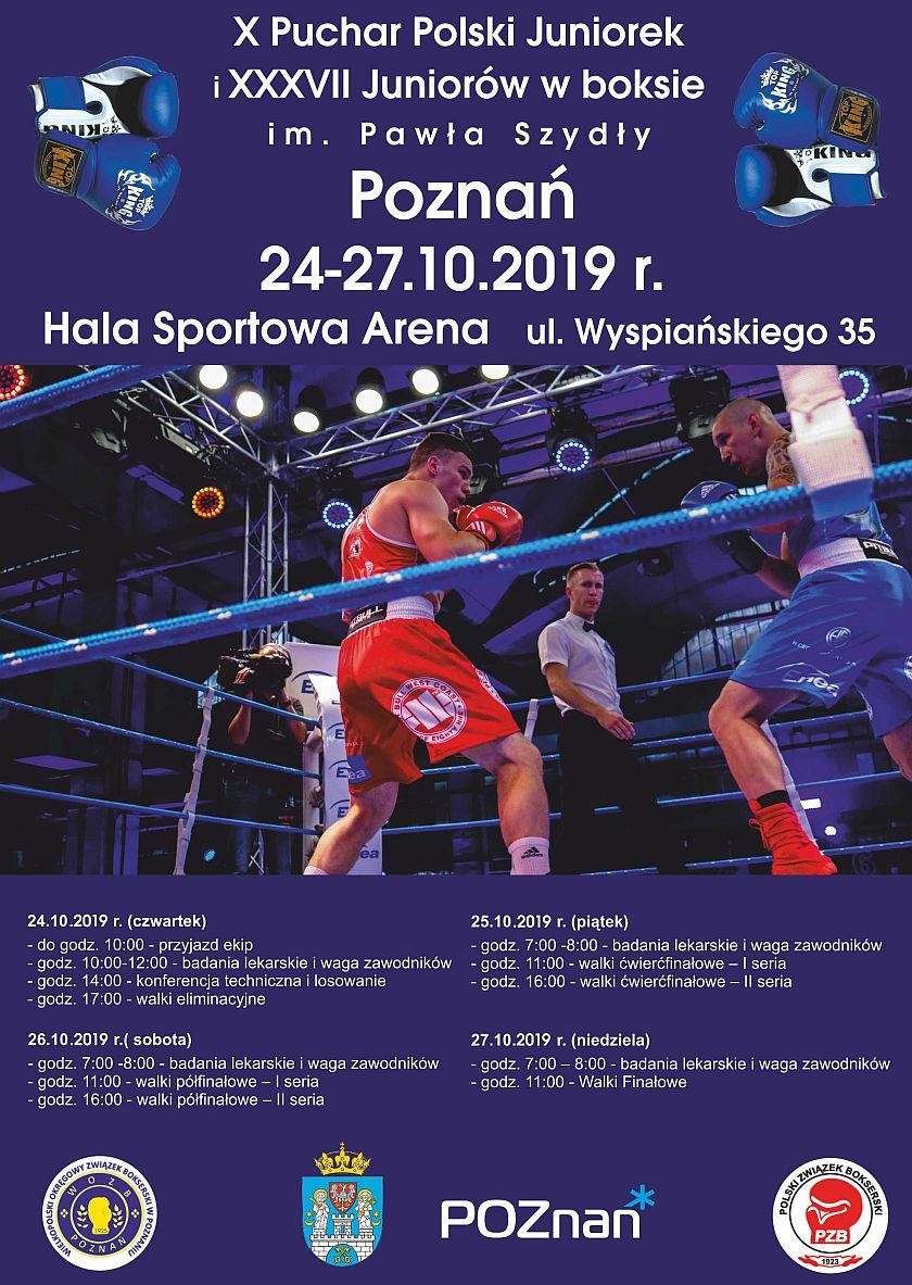 Puchar Polski Juniorek i Juniorów w Boksie - Poznań 2019