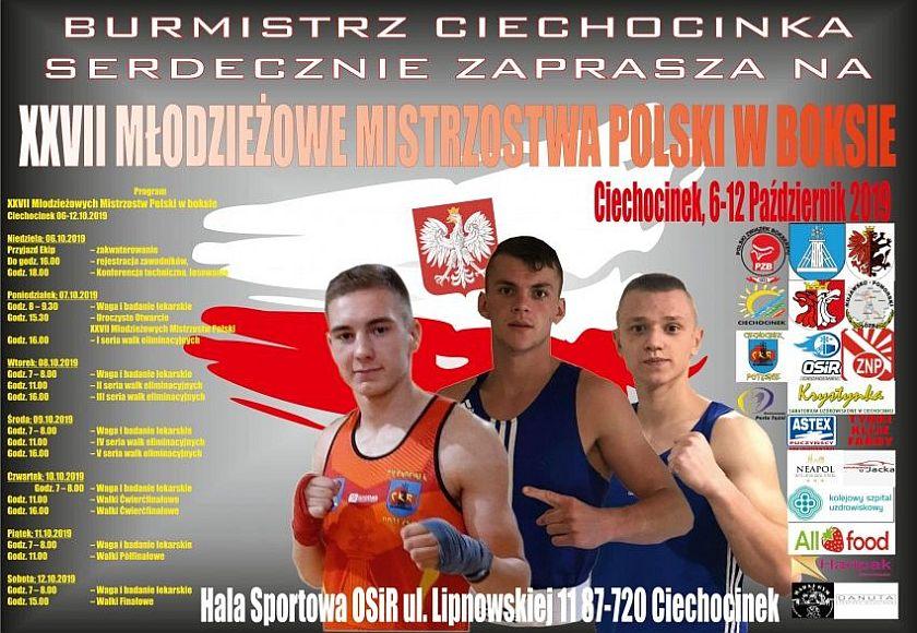 XXVII Młodziezowe Mistrzostwa Polski 2019 Ciechocinek