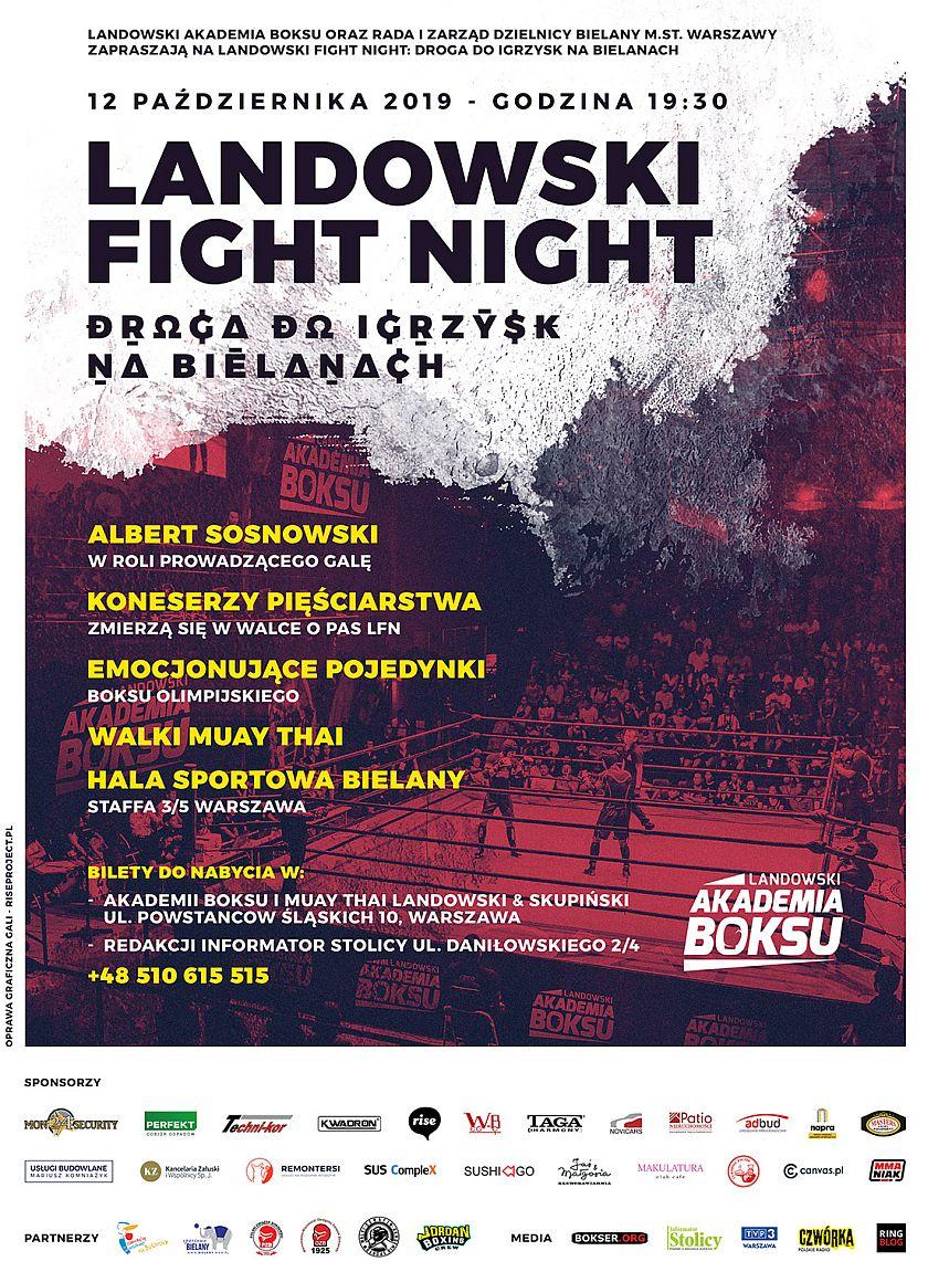 Landowski Fight Night Droga do Igrzysk - Warszawa, Bielany