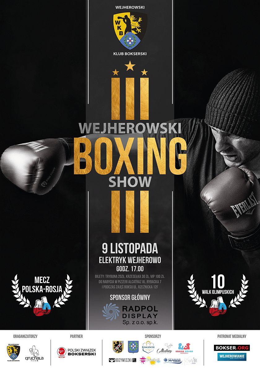 III Wejherowski Boxing Show - Gruchała Team - Elektryk Wejherowo