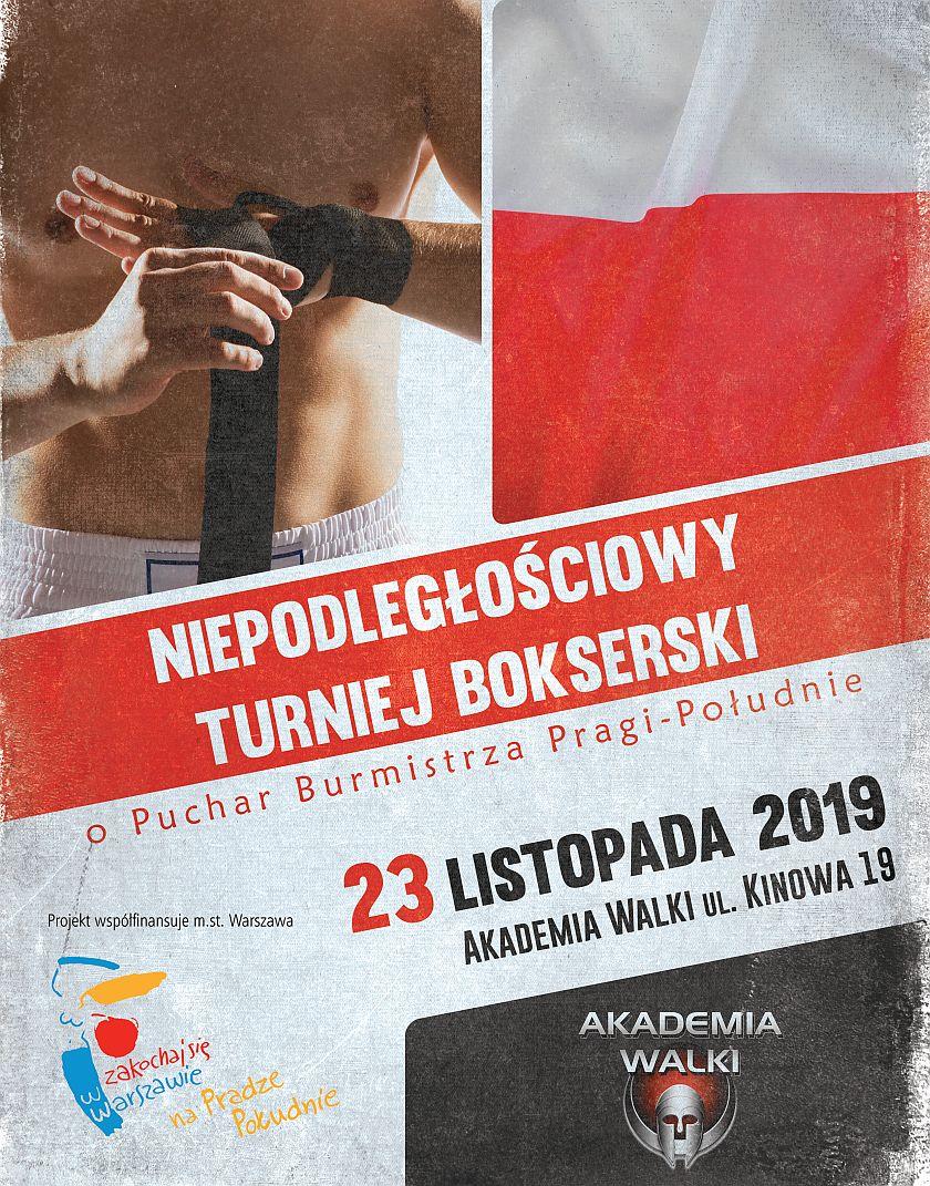 Niepodległościowy Turniej Bokserski z cyklu Paweł Skrzecz Zaprasza ...