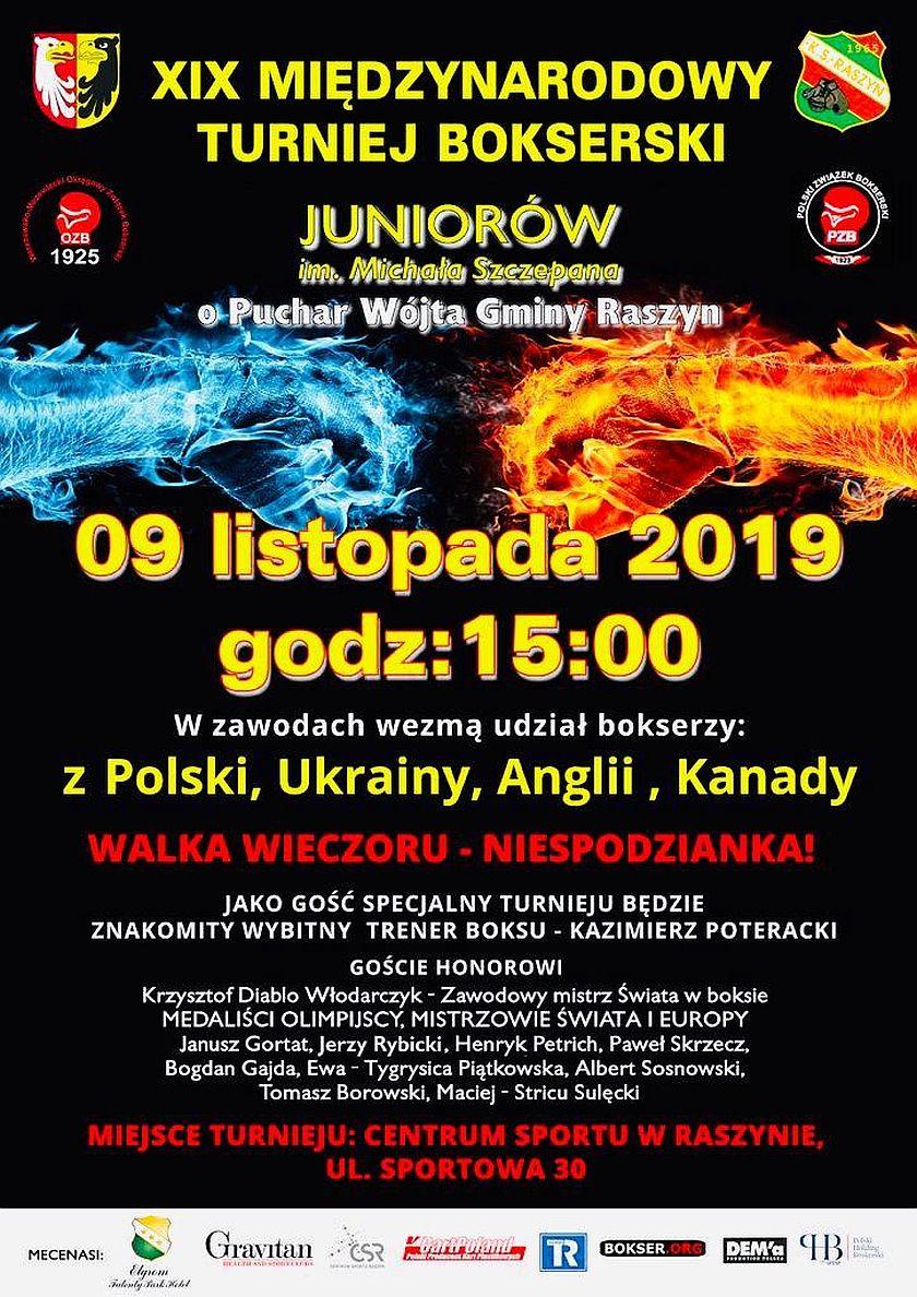 Międzynarodowa Gala Boksu w Raszynie im. Michała Szczepana