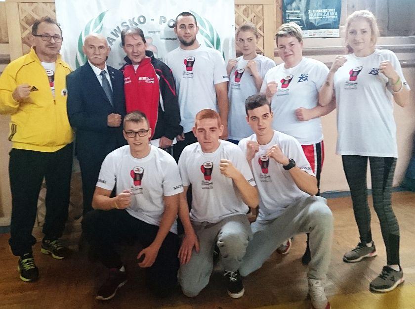 Klub Start Włocławek z mistrzem olimpijskim Marianem Kasprzykiem