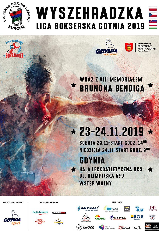 Turniej Wyszehradzkiej Ligi Bokserskiej Gdynia 2019