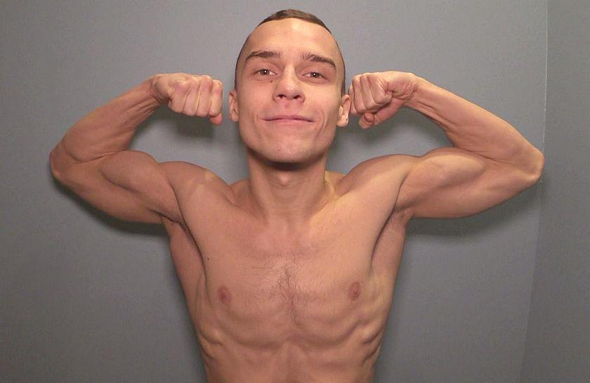 Kategoria 52kg Dorian MOSPINEK (BKS Skorpion Szczecin)