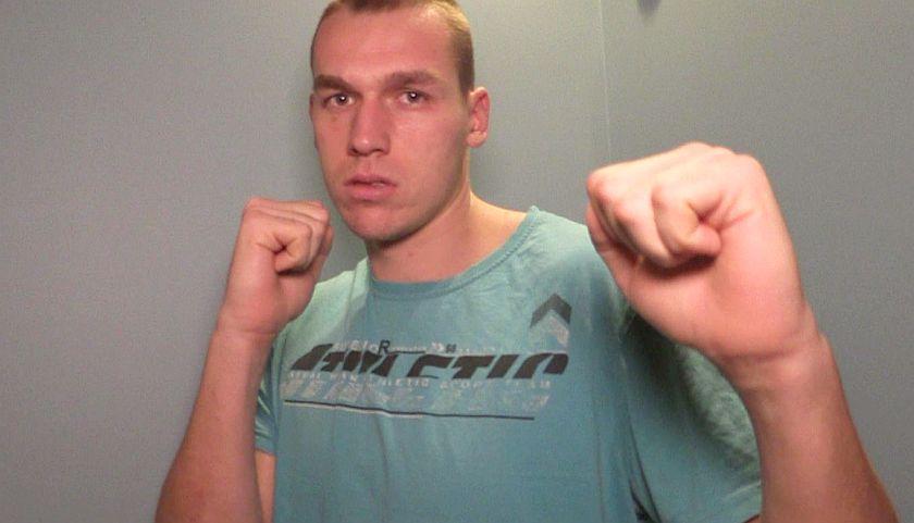 Kategoria +91kg Damian KNYBA (BSB Astoria Bydgoszcz)